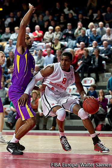 8. Gregory Thondique (Antwerp Giants)